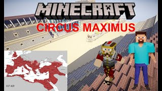 (School Project) The Circus Maximus, but in Minecraft