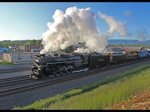 NKP 765 Barking Through the Alleghenies-Chasing the Horseshoe Curve Special!
