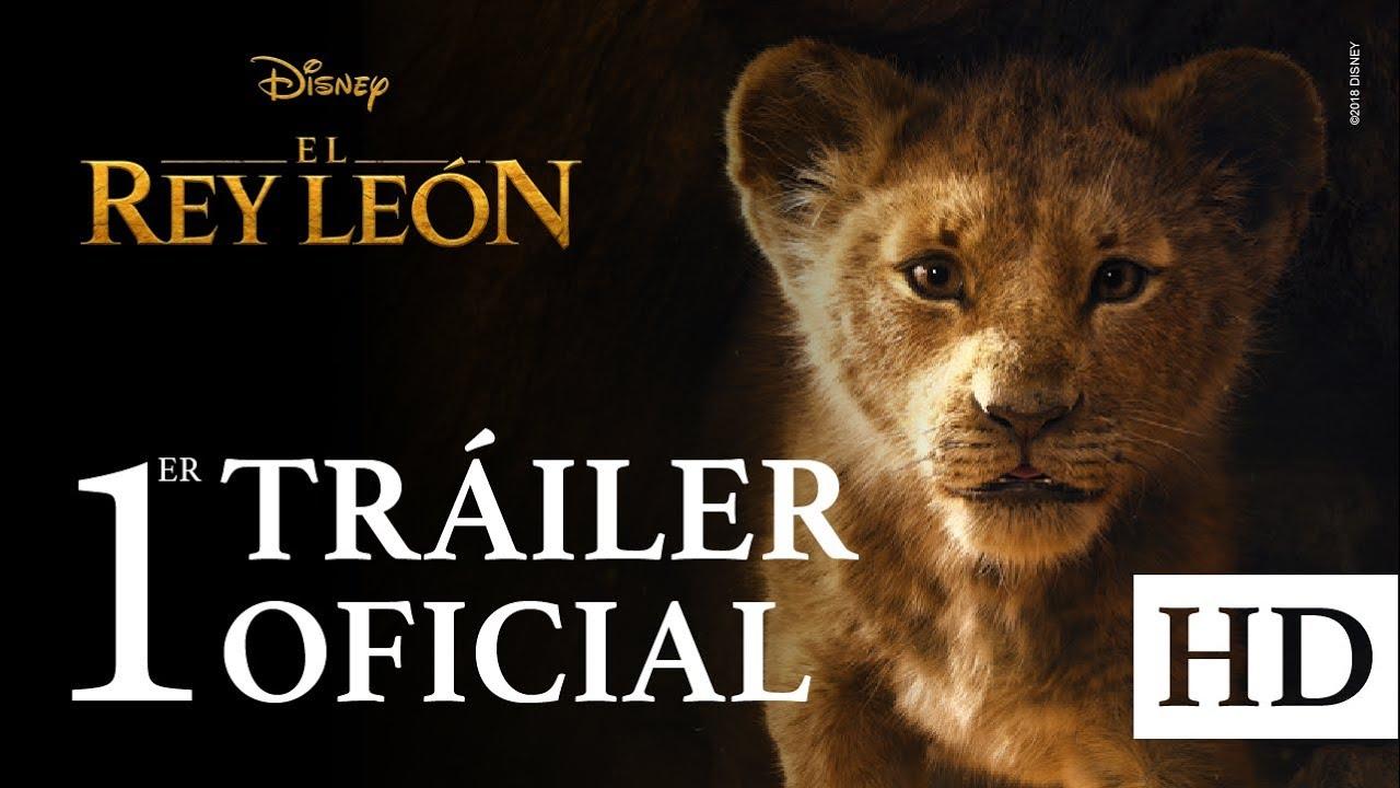 El Rey León De Disney Tráiler Oficial 1 Subtitulado Youtube