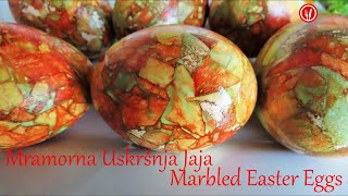 Napravimo Mramorna Jaja | Make Marbelized Easter Eggs
