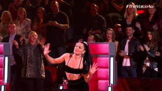 Jessie Has ALL The Moves! | The Voice Australia 2015