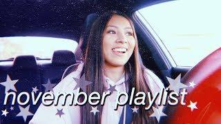 the november playlist ive had on loop