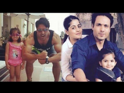 Kehidupan Pemeran ANSHUMAN/Paakhi Antv/ bersama istri & anaknya