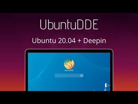 UbuntuDDE - Beautiful Linux Distro Made with Ubuntu + Deepin Desktop Environment