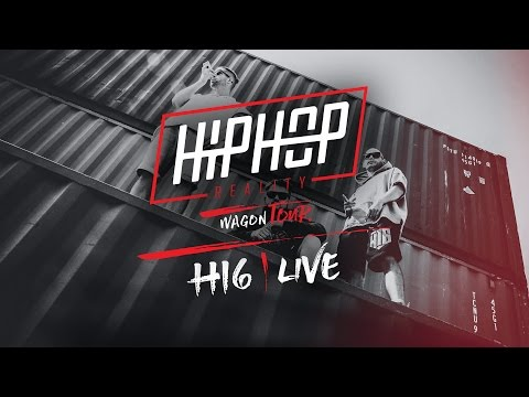 HIP HOP REALITY WAGON TOUR #55 - H16 ( BRATISLAVA )