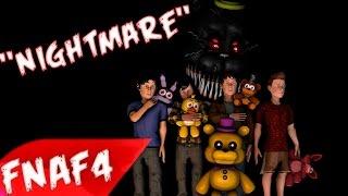 "(SFM) ""Nightmare"" REMADE Song Created By:NateWantsToBattle"