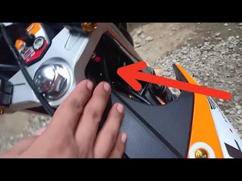 Push Button Seat Opener || RS150r || DIY..