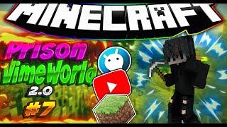 Prison VimeWorld 2.0 #7 | 18 lvl, 3 дк, Эксперимент 18 шахты