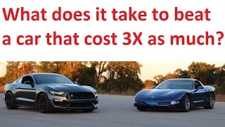 Z06 VS GT350 Track Battle!