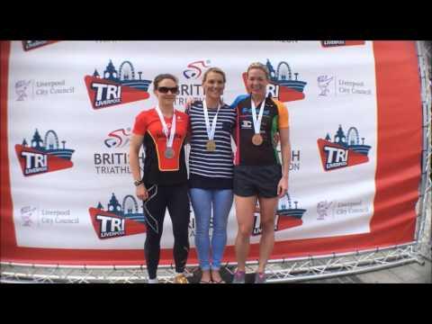 Tri-Liverpool, British Triathlon Medal Presentations 2016