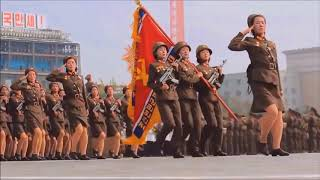 i put I'd Like To Teach The World To Fap in perfect Harmony over north koreans marching