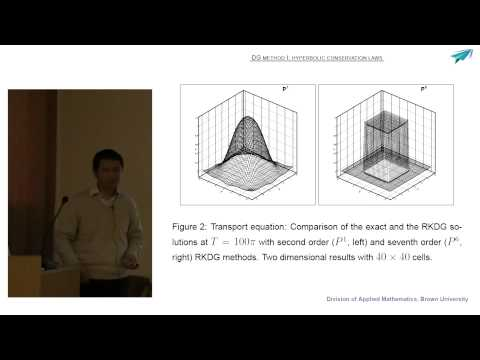 Chi Wang Shu: High order schemes for convection dominated problems. Lecture 2. September, 20, 2013