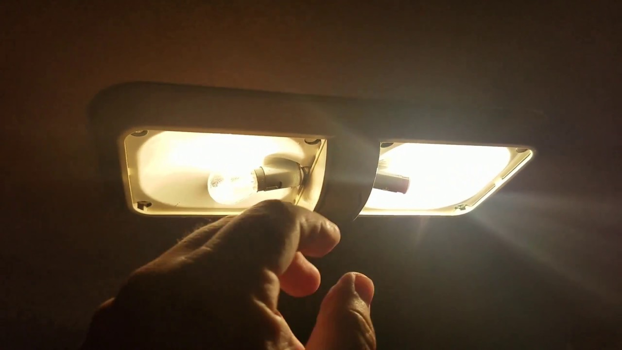 Kohree led rv dome light fixture review and installation Led glow interior lights installation