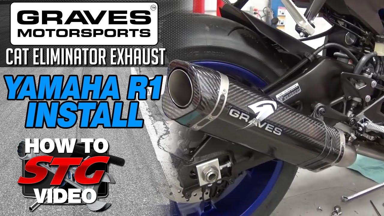 15 17 Yamaha Yzf R1 Graves Cat Eliminator Exhaust System Install Sportbiketrackgear Com