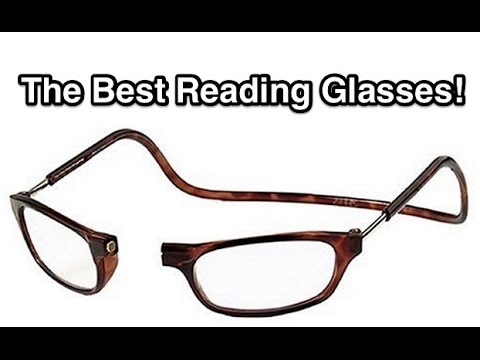 1c55c02ad0 Clic Readers - The BEST Reading Glasses! 4k UHD - YouTube