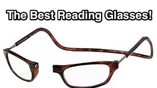 Clic Readers - The BEST Reading Glasses! 4k UHD