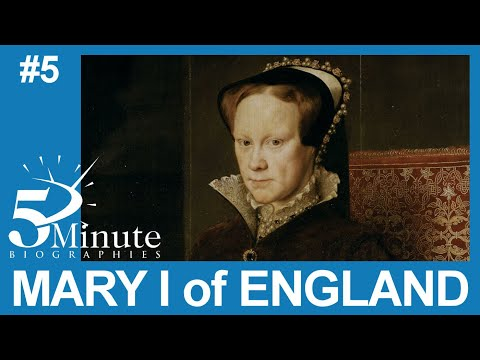 biography on mary i of england