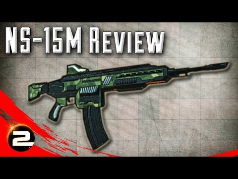 NS-15M Review (Accurate Run and Gun Support) - PlanetSide 2 Weapon Review