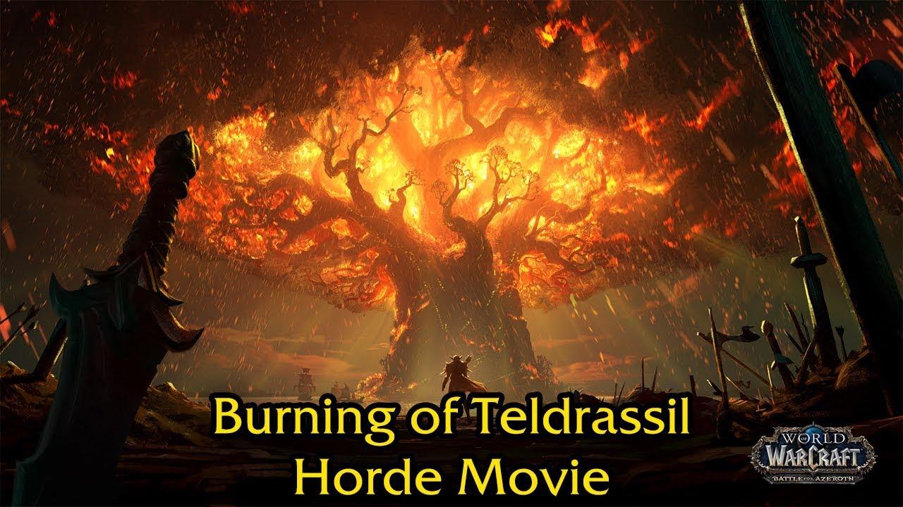 teldrassil burning moving