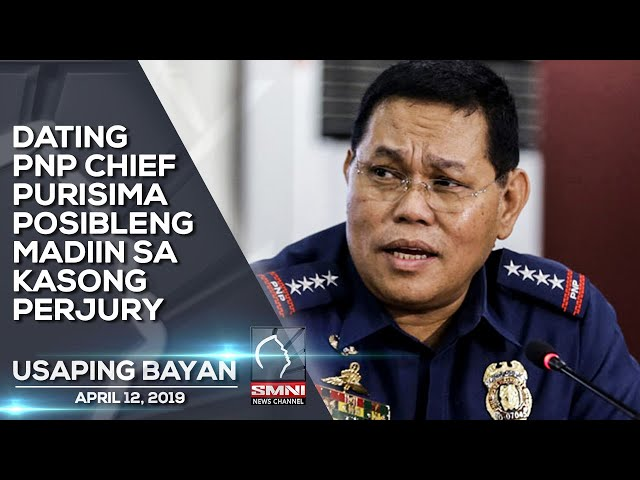 DATING PNP CHIEF PURISIMA POSIBLENG MADIIN SA KASONG PERJURY
