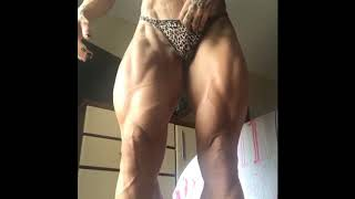 Female Bodybuilding Strong And Bigger Legs