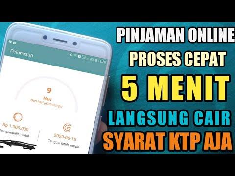 Pinjaman Online Langsung Cair Syarat Ktp Saja Youtube