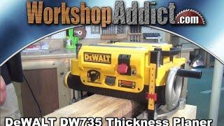 """Dewalt Dw735 13"""" Thickness Planer"""