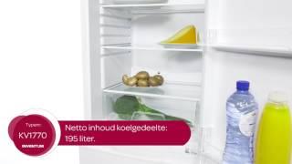 Inventum KV1770 Vrijstaande koelkast