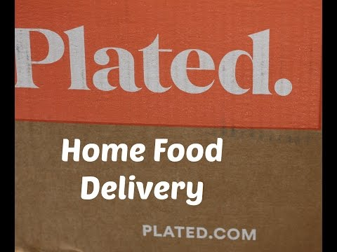 Plated |Home Food Delivery Service | Unboxing | LisaSz09
