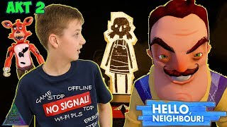 ПРИВЕТ, СОСЕД! Акт 2   ПОЛНОЕ ПРОХОЖДЕНИЕ Hello Neighbour #2