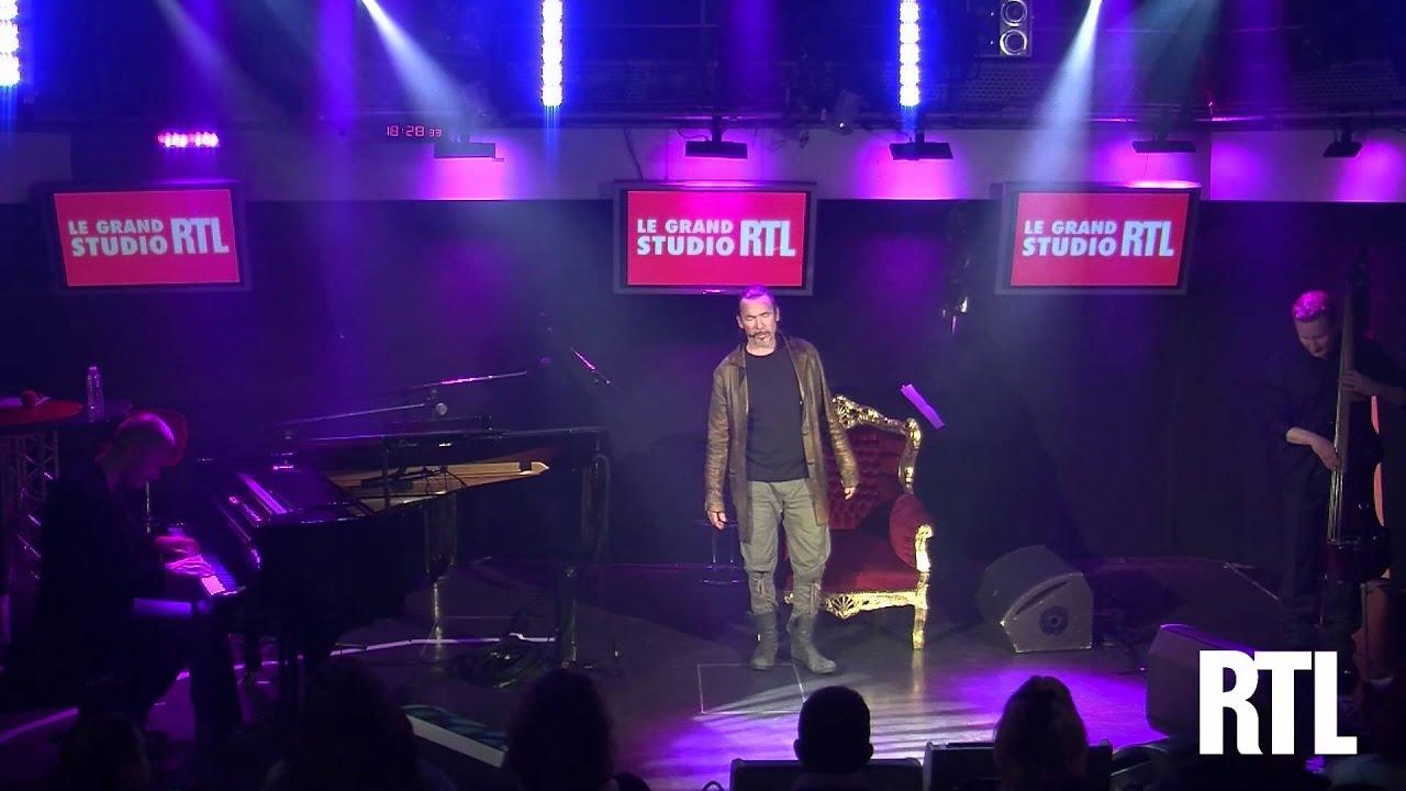 Florent Pagny - Et un jour une femme en live dans le Grand Studio RTL présenté par Eric Jean-Jean