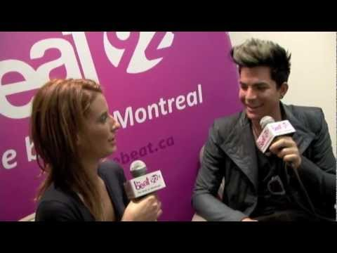Adam Lambert on All-Access Weekend 925 The Beat of Montreal from YouTube · Duration:  1 minutes 58 seconds