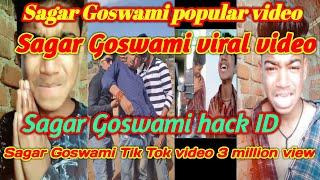 Most Popular sagar Goswami Status  Sagargosambi Lifestyle Online  Tik Tok Musical