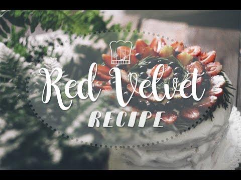 COOKING RED VELVET / Рецепт торта Красный бархат