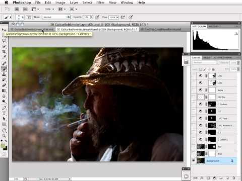 Digital Darkroom -- General Image Finishing Part One -- Impromptu Portrait