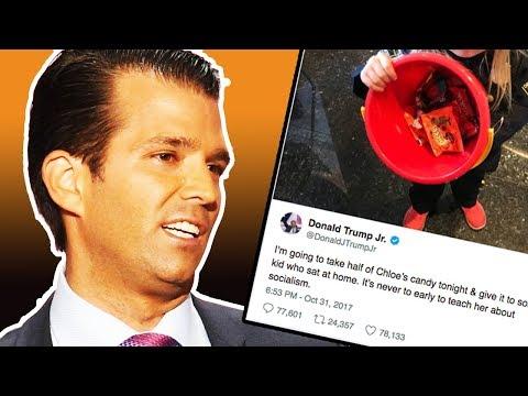 Donald Trump Jr. Anti-Socialist Halloween Tweet Backfires
