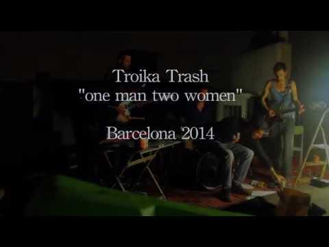 Troika Trash live in Barcelona 2014