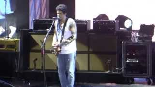 Lay Down Sally  John Mayer @ Kansas City, Mo  7/10/13