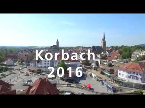 Waldeck von oben: Korbach