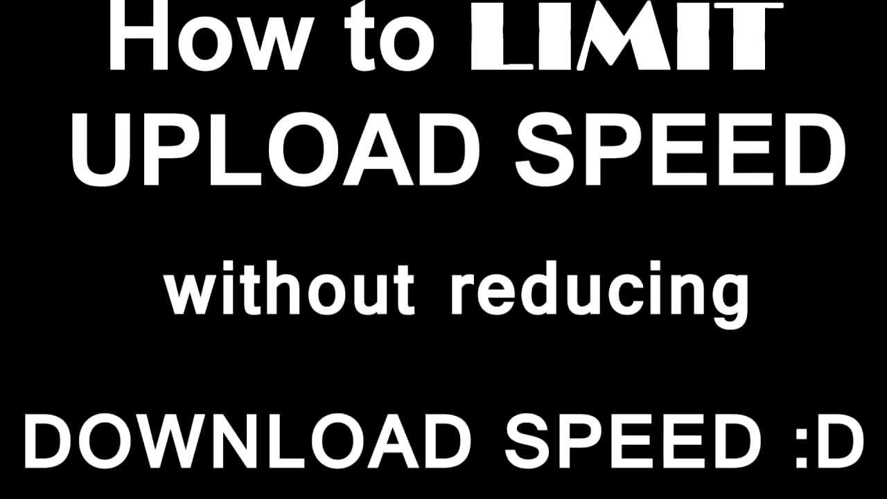 how to get more upload speed utorrent