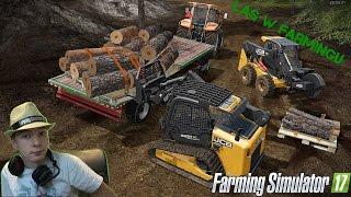 Wycinka Zagrażających Drzew & Załadunek Na Palety! Zawód Drwal w Farming Simulator 2017 !