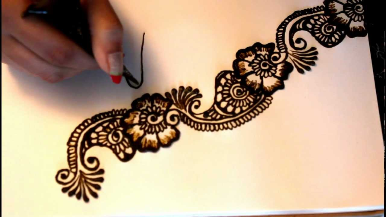 Good Mehndi Patterns : Tricky thursday taking your henna design from good to