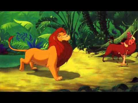Hakuna Matata- The Lion King (lyrics)
