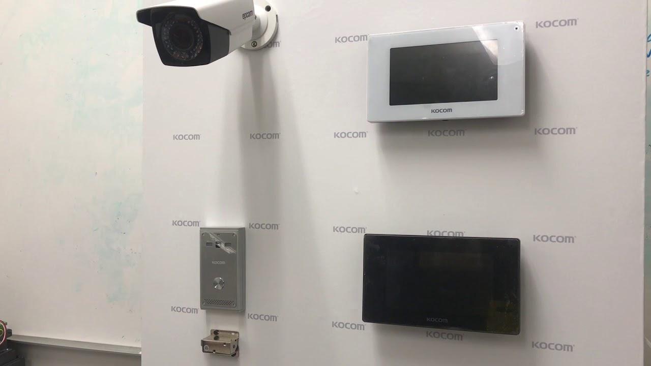 como instalar un videoportero kocom