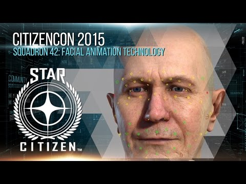 Squadron 42: Facial Animation Technology