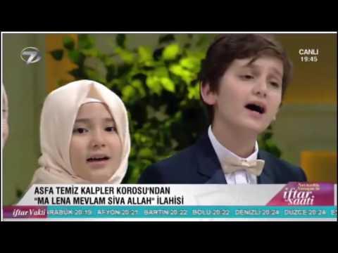 Asfa Temiz Kalpler Korosu Kanal 7 Necmettin Nursaçan'la İftar Saati