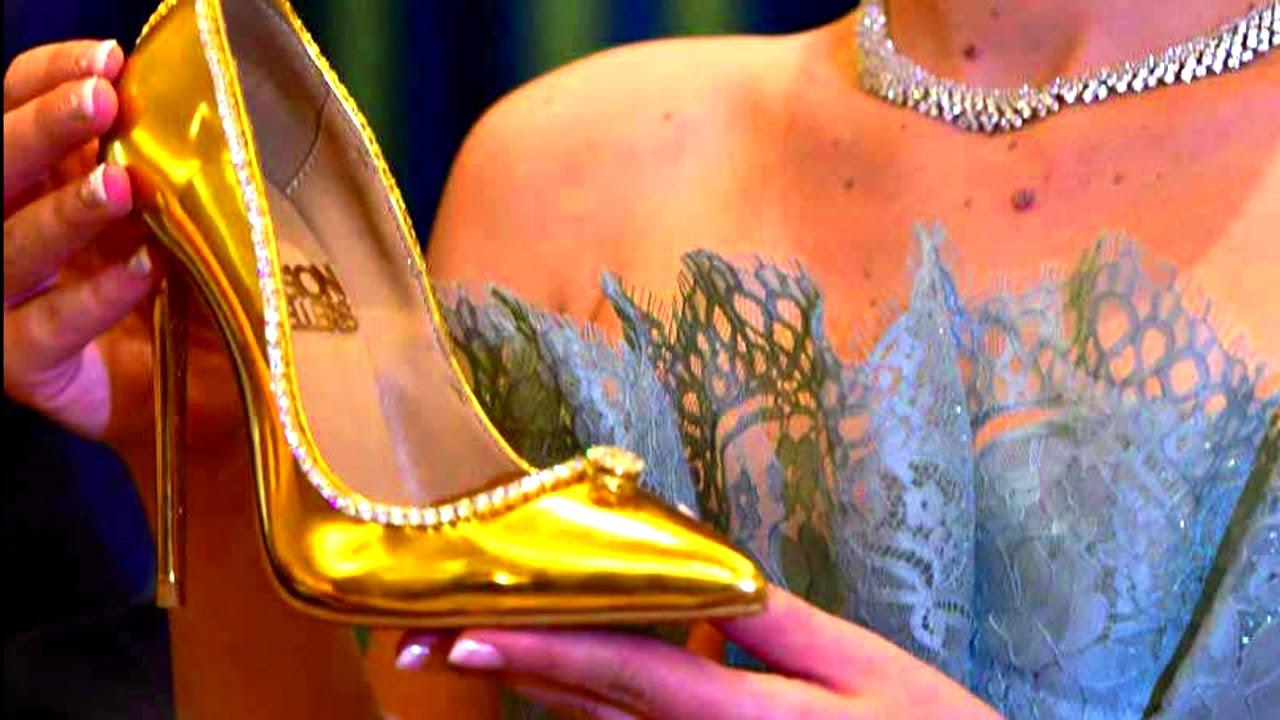 Presentan Dubái Más En Del Los Caros Zapatos Mundo 1uKTJ3lFc5