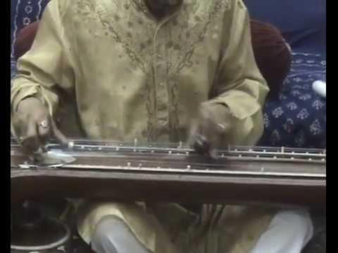 Vichitra Veena Niranjan Haldar raaga Kausiki Kanada.flv