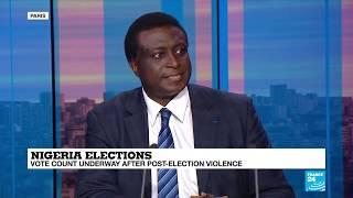 Nigeria elections: Close race between President Buhari and Atiku Abubakar