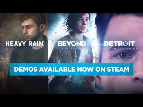 Steam Announcement Trailer - Detroit: Become Human, Beyond: Two Souls, Heavy Rain | Quantic Dream